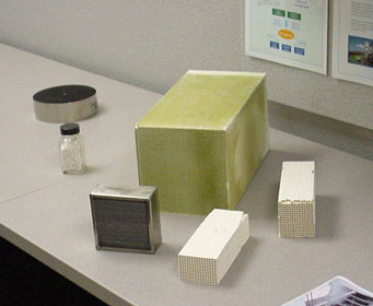 Our catalyst lab has experience coating a variety of substrates.